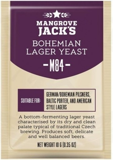 LIEVITO MANGROVE JACK'S BOHEMIAN LAGER M84 (10 GR.)